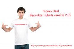 Bedrukte T-shirts tegen spotprijzen