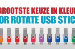 USB Rotate in 14 verschillende kleuren